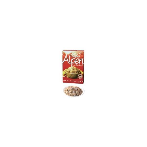 食品 オートミール フレーク ナッツ ドライフルーツ 朝食 朝ごはん グラノーラ 食物繊維 シリアル 757-001 ウィータビックス アルペン ミューズリー 375g×1