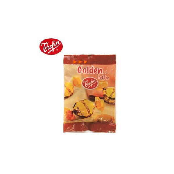 バター風味 飴 キャンディ 香ばしい 無着色 濃厚 おやつ お菓子 ベルギー 甘さ Trefin・トレファン社 ゴールデンタフィ 100g×20袋セット 同梱・代引不可