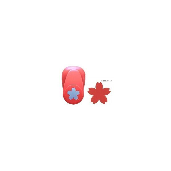 型抜き 文具 ペーパークラフト 桜 かわいい サクラ お花 穴あけ 文房具 雑貨 デザイン PI Original DECOP BIG3 クラフトパンチ さくら 同梱・代引不可