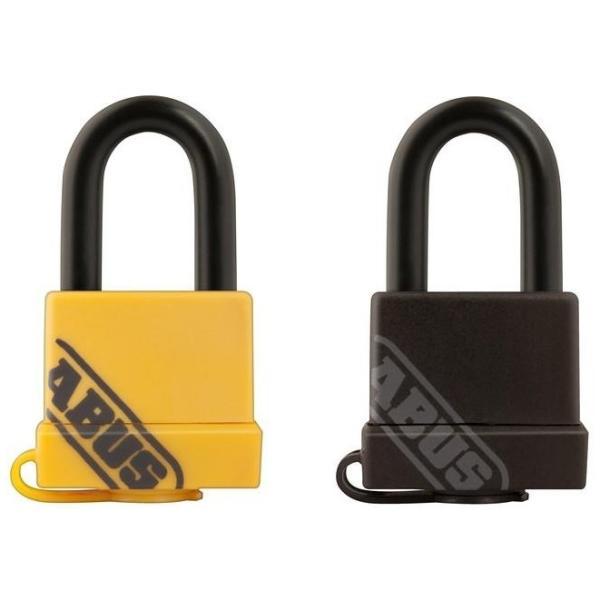 雨 風 コンパクト エコ 強い 鍵穴カバー 吊り長タイプ 長く使える 鍵 ABUS(アバス) 防水南京錠 BP70/35 35mm 3本キー 同梱・代引不可
