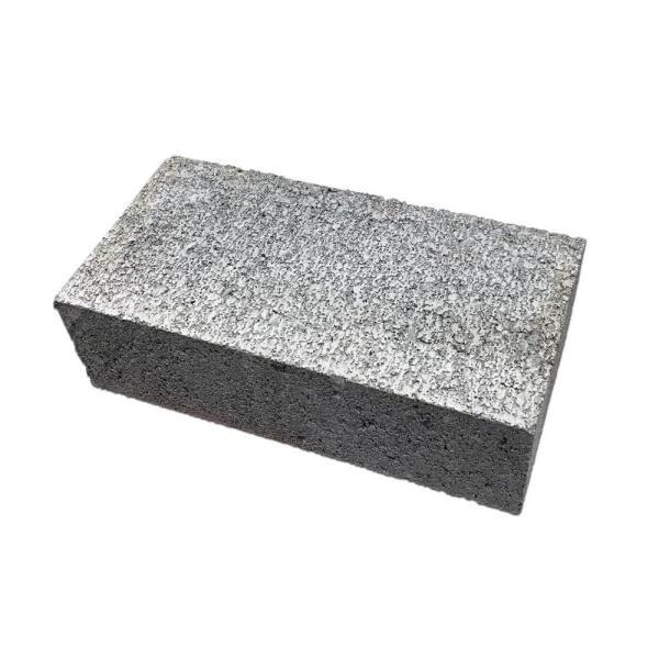 レンガブロック ガーデン ブロック 敷石 煉瓦 花壇 基礎用ブロック コンクリートブロック 久保田セメント工業 コンクリートレンガ コンクリート色 4個セット