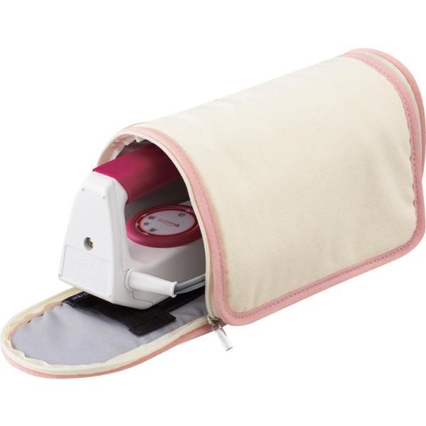 ポータブル アイロン入れ 折りたたみ  持ち運び 収納  収納袋 アイロンマット 収納バッグ クロバー パッチワークアイロン用 ケース&マット 57-909 同梱・代引不