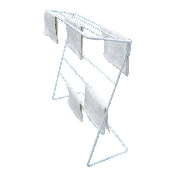 タオルラック ぞうきんスタンド 大容量 物干し 清掃用品 雑巾 タオル掛け タオルハンガー ダスタースタンド Z型 21枚掛け 同梱・代引不可