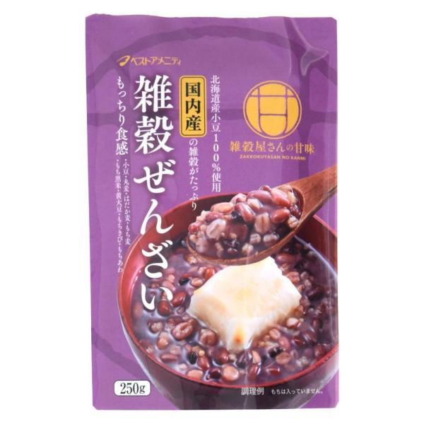 雑穀ぜんざい 250g×16入 R20-026 同梱・代引不可