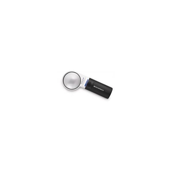 傷 明るい レンズ 非球面 ドイツ 拡大 歪み 便利 エッシェンバッハ LEDワイドライトルーペ LED ライト付手持ちルーペ 60mmφ(6倍) 1511-6 同梱・代引不可