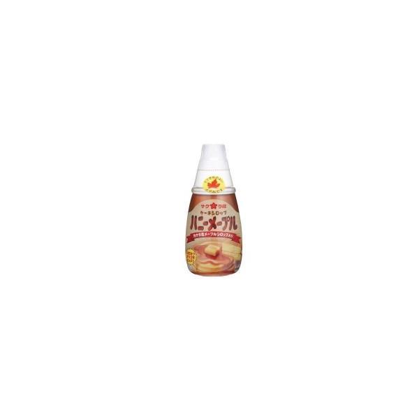 パンケーキシロップ 蜂蜜 ケーキシロップ 食品 カナダ産 ホットケーキシロップ ハチミツ メープルシロップ サクラ印 ハニーメープル(はちみつ&メープル) 12