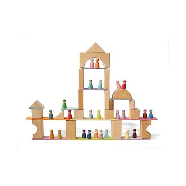 【取り寄せ品】グリムス 10667 ビルディングボード・パステル(Building Boards,pastel)|ohisamaya|04