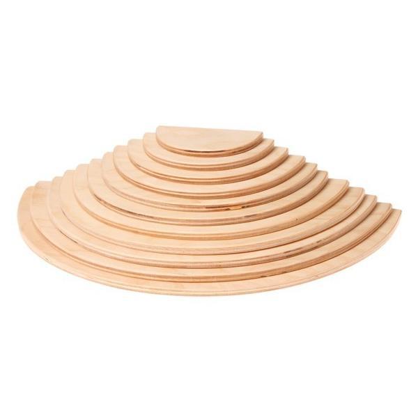 【取り寄せ品】グリムス 半円盤 ナチュラル( Large Semicircles, natural )|ohisamaya