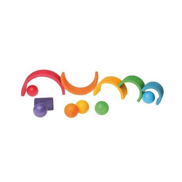 グリムス 10239 6色の木製ボール|ohisamaya|02