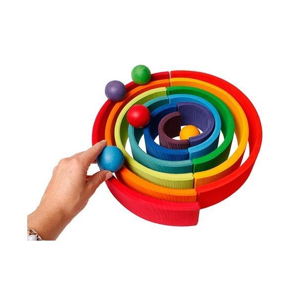 グリムス 10239 6色の木製ボール|ohisamaya|04