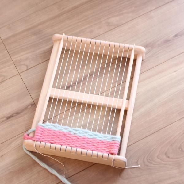 角型織機  おもちゃ箱 ohisamaya