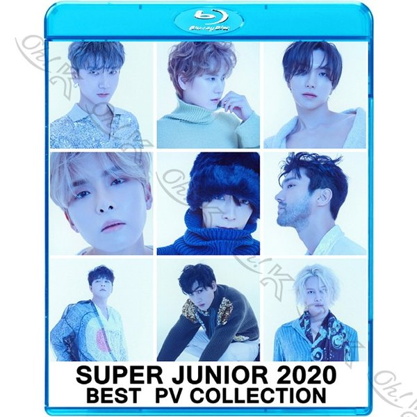 【Blu-ray】 Super Junior 2020 BEST PV Collection - 2YA2YAO! SUPER Clap Black Suit One More Chance - SJ スーパージュニア 【SUPER JUNIOR ブルーレイ】