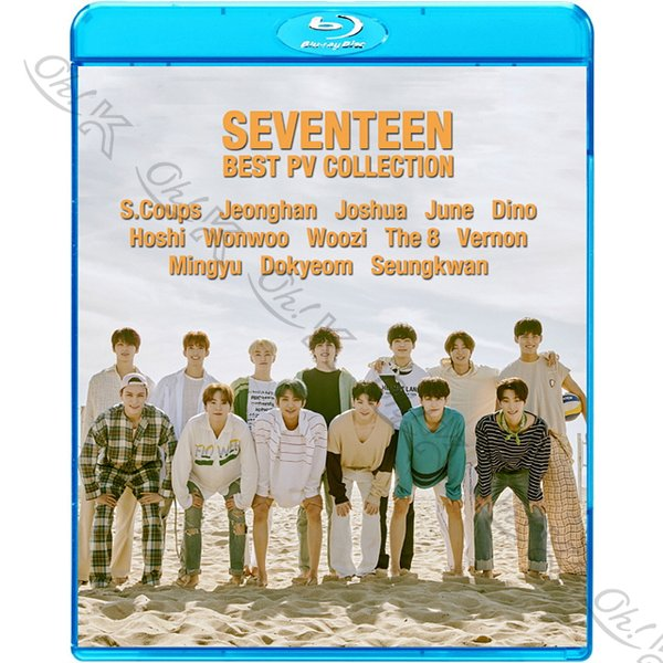 【Blu-ray】 SEVENTEEN 2020 BEST PV Collection - Left & Right Fear HIT Home Oh My! THANKS - SEVENTEEN セブンティーン 【SEVENTEEN ブルーレイ】