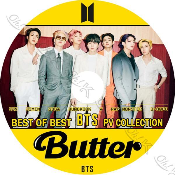 |K-POP DVD BTS BEST PV COLLECTION 2021 - Butter Li…