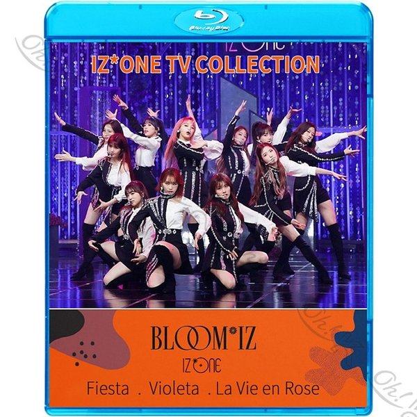 【Blu-ray】★ IZ*ONE 2020 TV COLLECTION - FIESTA Violeta La Vie en Rose O' My! - 【KPOP ブルーレイ】 IZ*ONE アイズワン 【IZ*ONE ブルーレイ】