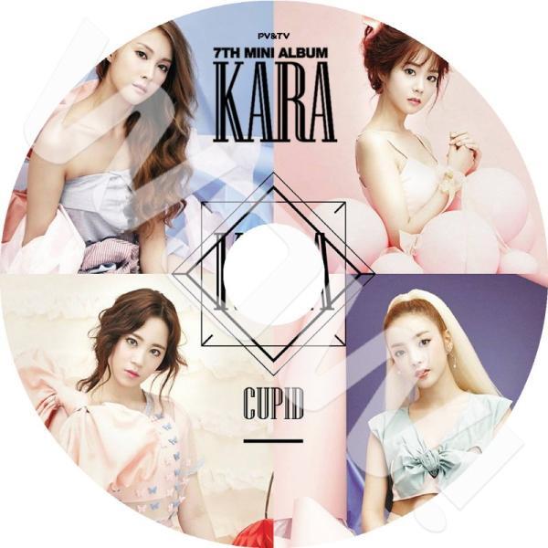 【K-POP DVD】 KARA 2015 PV&TV Collection  CUPID Mamma Mia  KARA カラ 音楽収録DVD 【PV DVD】|ohk