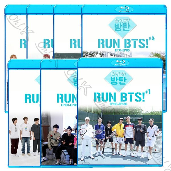 【Blu-ray】 BTS 走れ!防弾 5枚SET (Ep01-EP100) 【日本語字幕あり】 防弾少年団 バンタン 【BANGTAN ブルーレイ】