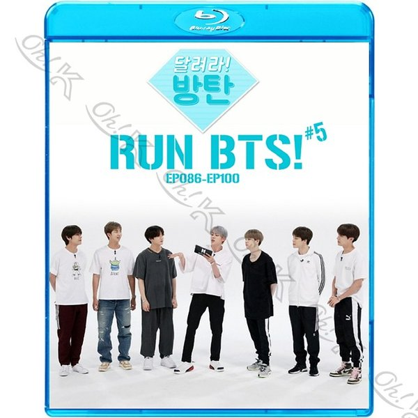 【Blu-ray】 BTS 走れ!防弾 #5 (Ep86-EP100) 【日本語字幕あり】 防弾少年団 バンタン 【BANGTAN ブルーレイ】