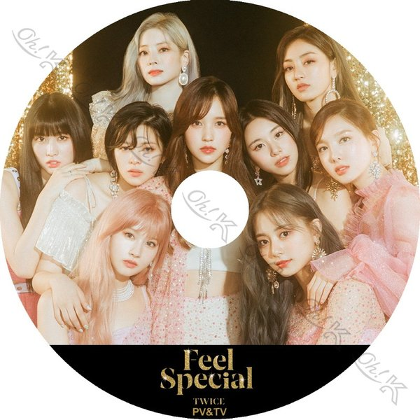 【K-POP DVD】 TWICE 2019 2nd PV/TV - Feel Special FANCY The Best Thing I Ever Did Yes or Yes Dance The Night Away - TWICE トゥワイス 【PV DVD】