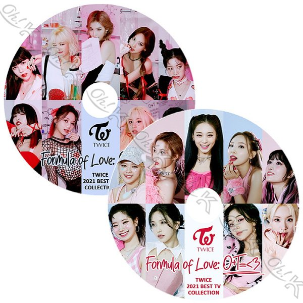 【K-POP DVD】 TWICE BEST PV/ TV 2枚SET - Feel Special FANCY Yes or Yes Dance The Night Away What is Love - TWICE トゥワイス 【PV KPOP DVD】
