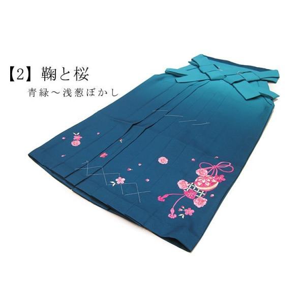 卒業式 袴 レディース 刺繍袴 5色 SS S M L LL ぼかし 婦人 女 和装 成人式 謝恩会|ohkini|03