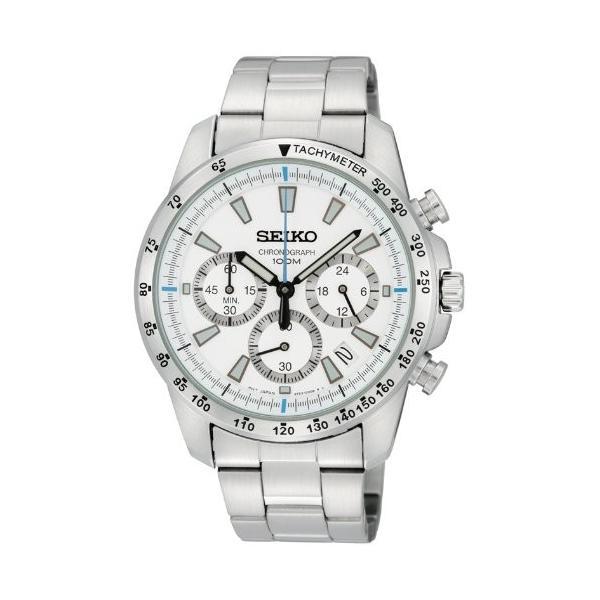 [セイコー]SEIKO 腕時計 クロノグラフ 逆輸入 海外モデル SSB025P1 メンズ 【逆輸入品】|ohmybox
