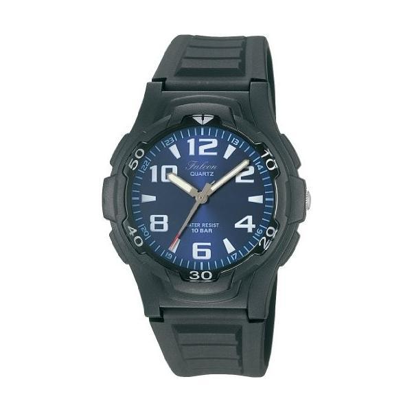 [シチズン キューアンドキュー]CITIZEN Q&Q 腕時計 Falcon (フォルコン) スポーツタイプ アナログ表示 10気圧防水 ブルー VP84J850 メンズ|ohmybox