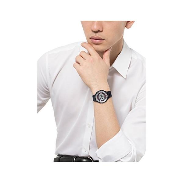 [シチズン キューアンドキュー]CITIZEN Q&Q 腕時計 SOLARMATE (ソーラーメイト) 電波ソーラー デジタル表示 クロノグラフ 10気圧防水 ブラック MHS7-300|ohmybox|02
