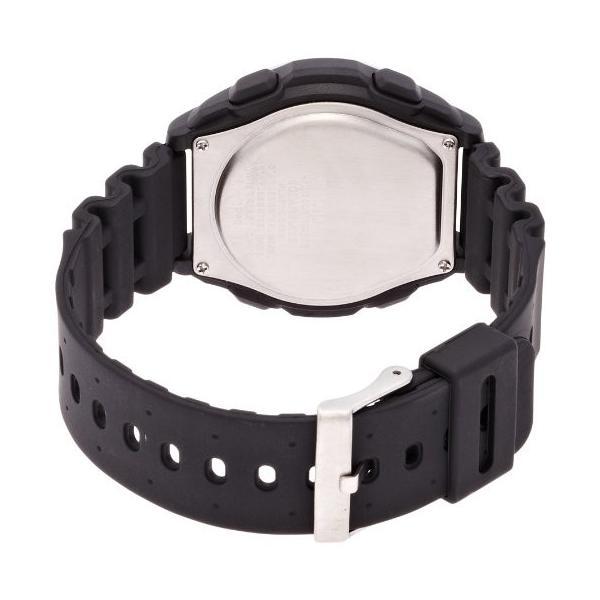 [シチズン キューアンドキュー]CITIZEN Q&Q 腕時計 SOLARMATE (ソーラーメイト) 電波ソーラー デジタル表示 クロノグラフ 10気圧防水 ブラック MHS7-300|ohmybox|04