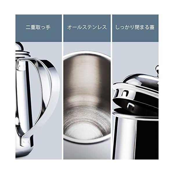 コーヒードリップポット Love-KANKEI ドリッ プケトル 細口ポット ステンレス 650ML|ohmybox|05