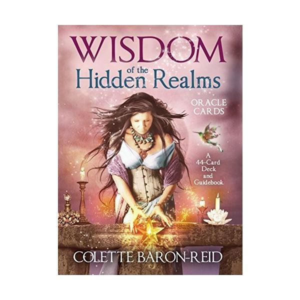 Wisdom of the Hidden Realms Oracle Cards オラクルカード 海外 英語版 輸入品