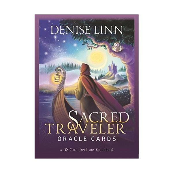 Sacred Traveler Oracle Cards: A 52-Card セイクレッドトラベラーオラクルカード 海外 輸入品 英語版 人生の探求