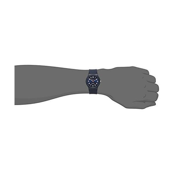 [シチズン キューアンドキュー]CITIZEN Q&Q 腕時計 Falconアナログ 10気圧防水 ウレタンベルト メタリックブルー VS04-002