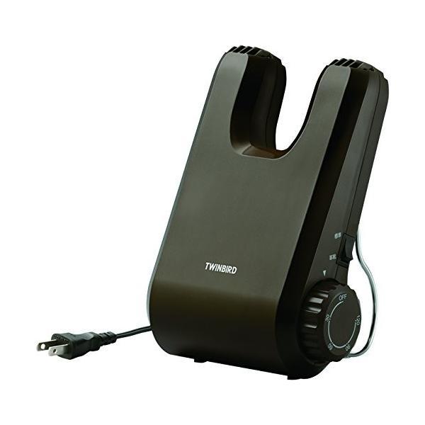 TWINBIRD くつ乾燥機 ブラウン SD-4546BR 悪臭対策 運動靴 クラブ試合前 ビジネスシューズのお手入れに