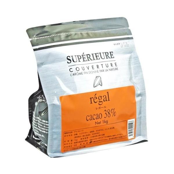 大東カカオ スペリオール レガール 1kg (カカオ分38%)|ohmybox