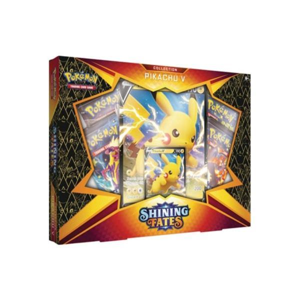 ポケモン トレーディングカードゲーム: シャイニング・フェイト コレクション ピカチュウVボックス 英語版