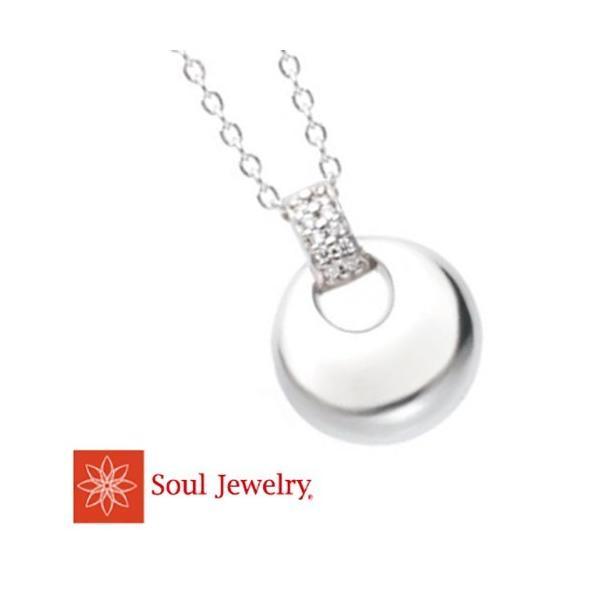 遺骨ペンダント パヴェ ドロップ プラチナ900 / Dia  遺骨収納  Soul Jewelry ソウルジュエリー No.221