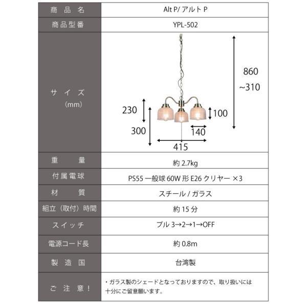 ペンダントライト 天井照明 照明 北欧  おしゃれ LED電球対応 寝室 ダイニング シャンデリア 502 oibby 10