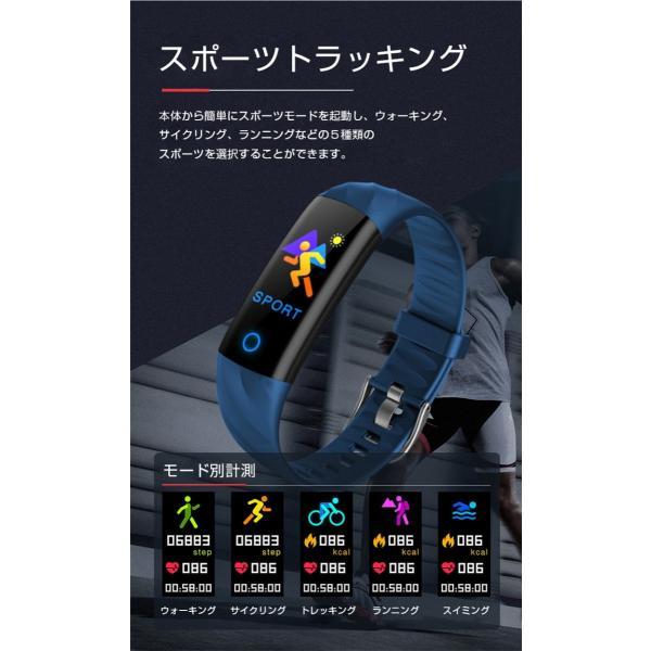 スマートウォッチ iPhone 対応 アンドロイド 日本語 説明書 血圧 血中酸素計測 電話Lineメール着信通知 生活防水 歩数計 心拍数 メンズ レディース S5 oiljapan 05