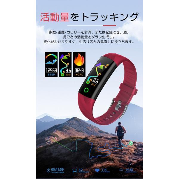 スマートウォッチ iPhone 対応 アンドロイド 日本語 説明書 血圧 血中酸素計測 電話Lineメール着信通知 生活防水 歩数計 心拍数 メンズ レディース S5 oiljapan 06