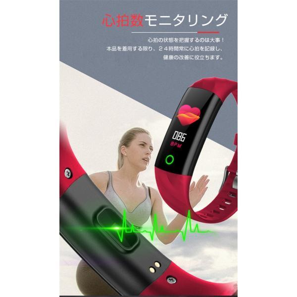 スマートウォッチ iPhone 対応 アンドロイド 日本語 説明書 血圧 血中酸素計測 電話Lineメール着信通知 生活防水 歩数計 心拍数 メンズ レディース S5 oiljapan 07
