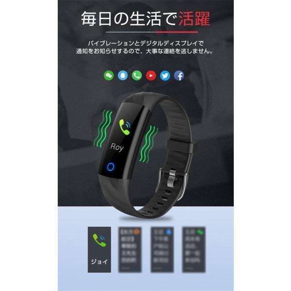 スマートウォッチ iPhone 対応 アンドロイド 日本語 説明書 血圧 血中酸素計測 電話Lineメール着信通知 生活防水 歩数計 心拍数 メンズ レディース S5 oiljapan 09