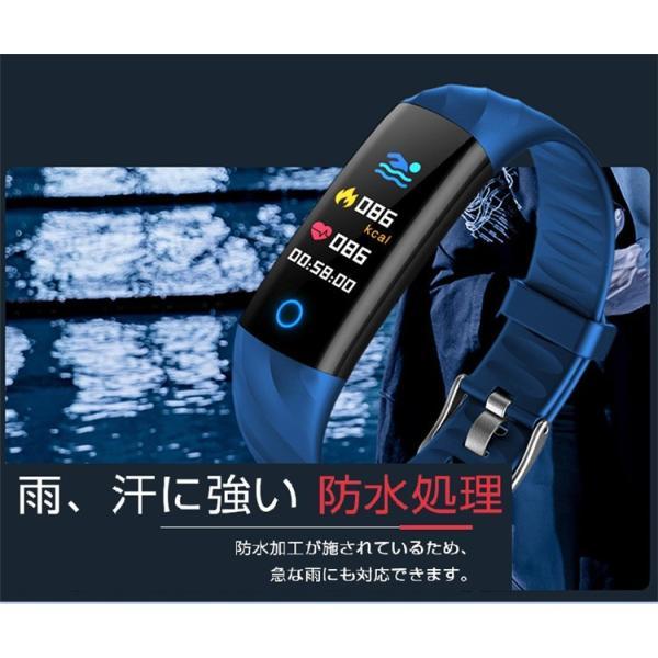 スマートウォッチ iPhone 対応 アンドロイド 日本語 説明書 血圧 血中酸素計測 電話Lineメール着信通知 生活防水 歩数計 心拍数 メンズ レディース S5 oiljapan 10