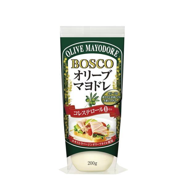 調味料 料理の素 油 マヨネーズ 日清オイリオ BOSCOオリーブマヨドレ 200g