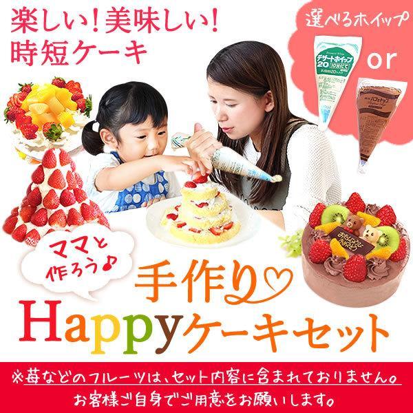 手作り ケーキ スイーツ デコレーション キット ショートケーキ|oimoya|02
