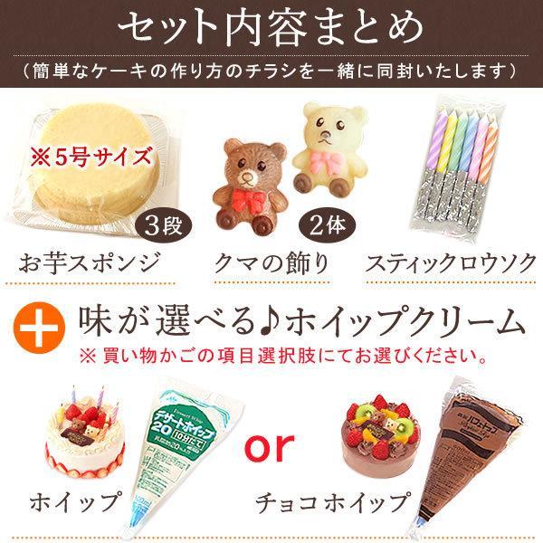 手作り ケーキ スイーツ デコレーション キット ショートケーキ|oimoya|03