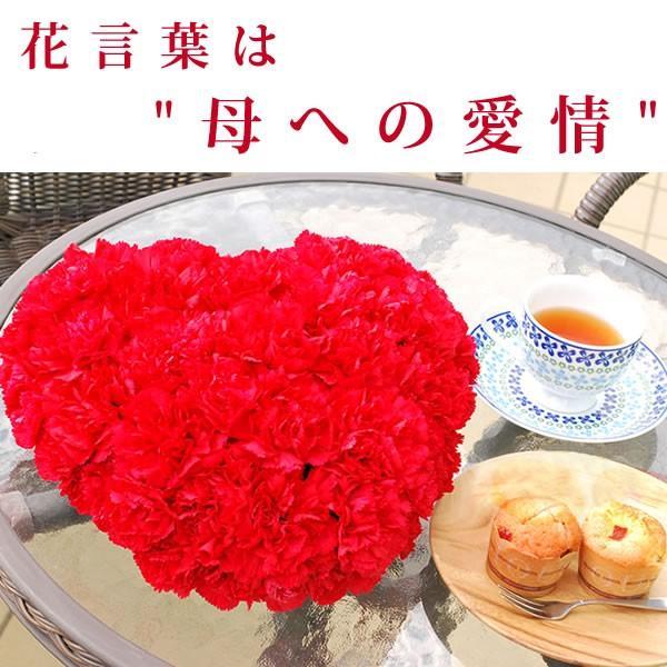 母の日ギフト ランキング プレゼント 2018 花 カーネーション アレンジメント スイーツセット 赤|oimoya|03