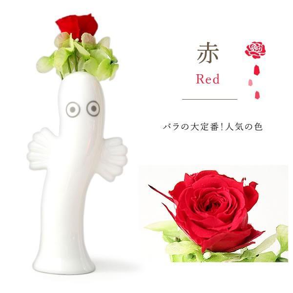 敬老の日 2019 ギフト プレゼント ムーミン プリザーブドフラワー 花 お菓子|oimoya|05