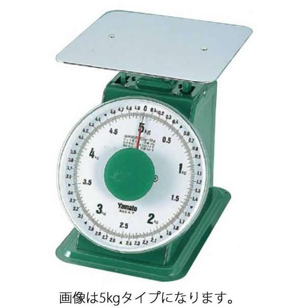 241-10 ヤマト 上皿はかり(平皿) 50kg (SD-50) 371008140