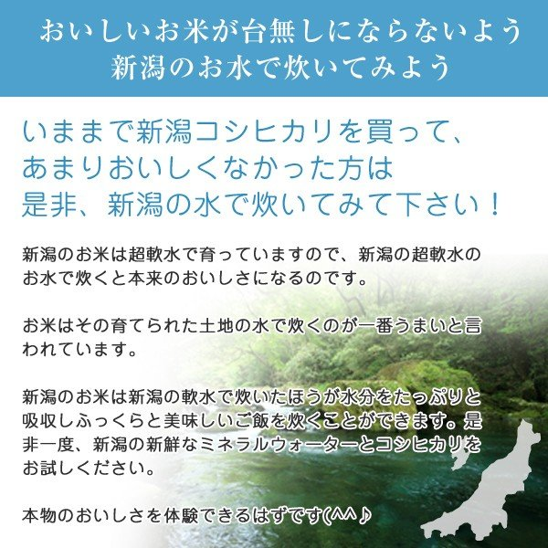 新米 コシヒカリ 10kg (5kgx2袋) 白米 精白米 新潟産 令和元年 送料無料 産地直送|oishii-kome|05